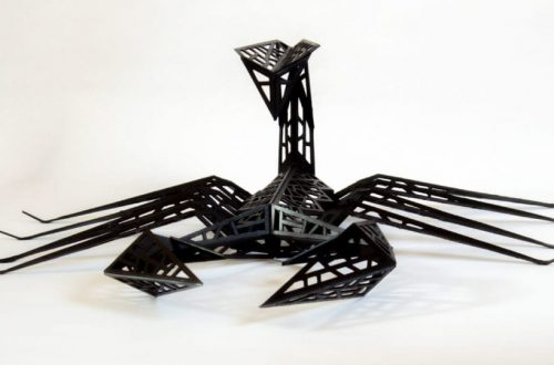 Scorpion Origamique