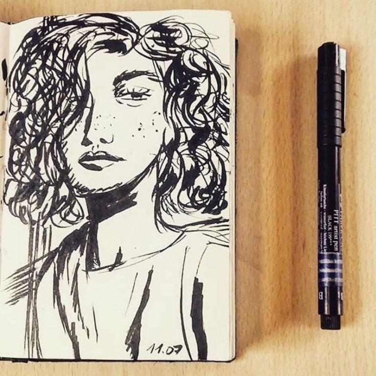 Portrait stylisé